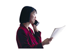 Entrevista de ventas y contacto telefónico